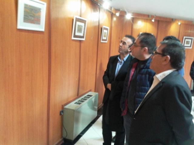 برپایی نمایشگاه مینیاتور نقش ایران در آستارا