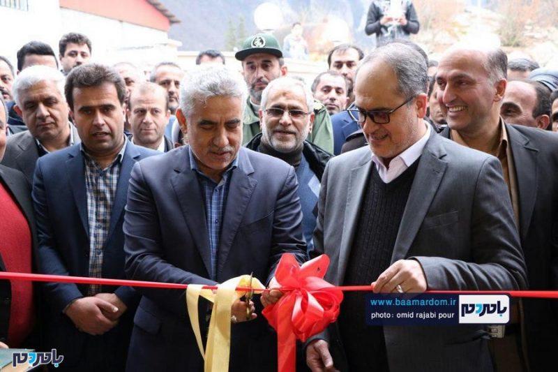 افتتاح اولین و مجهزترین کارخانه فرآوری فندق و گیاهان دارویی در اشکور رحیم آباد + تصاویر