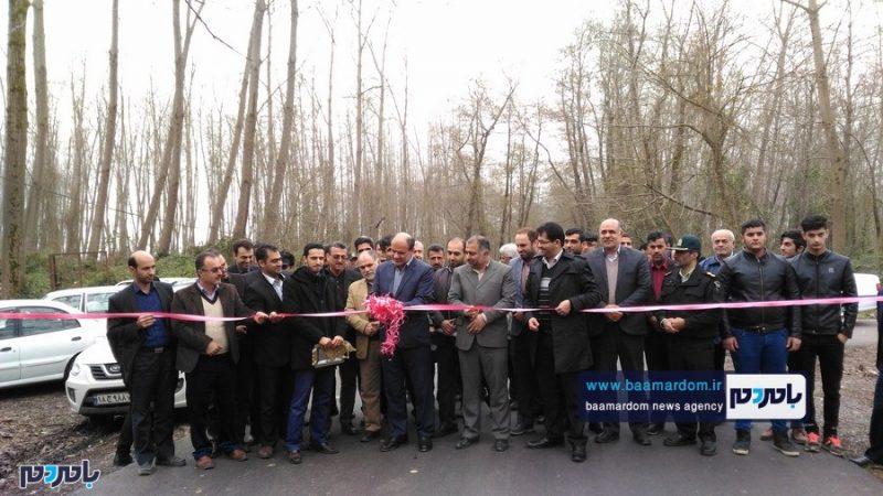 افتتاح و بهرهبرداری از چند پروژه عمرانی و عام المنفعه در بندر کیاشهر | گزارش تصویری