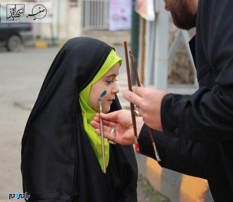 برگزاری برنامههای فرهنگی و هنری در 22 بهمن 1396 در لاهیجان 6 463x400 - برگزاری برنامههای فرهنگی و هنری در 22 بهمن 1396 در لاهیجان | گزارش تصویری