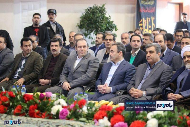 بهرهبرداری از ۳ طرح عمرانی در شهرستان لاهیجان با حضور استاندار گیلان   گزارش تصویری