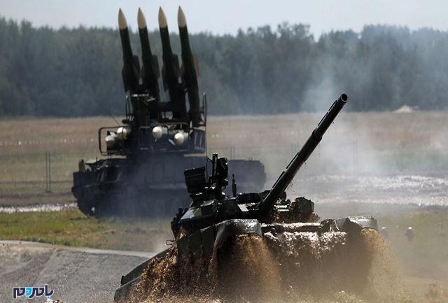 حرکت تانکهای روسیه به سمت عراق!