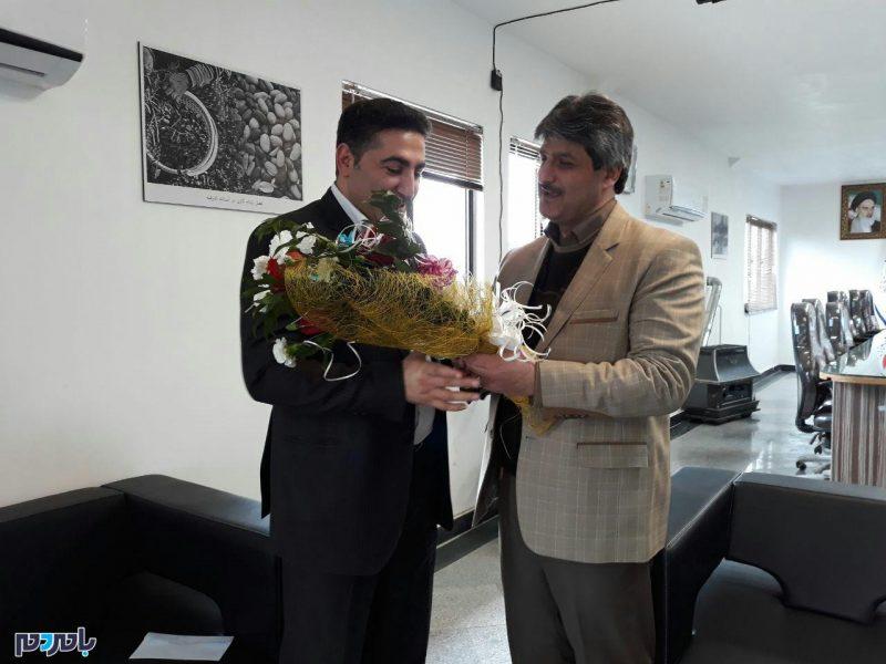 تقدیر شهردار آستانهاشرفیه از رییس شورای شهر + تصاویر
