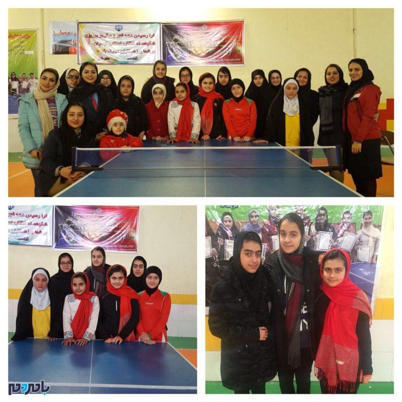 درخشش دختران تنيس باز لاهيجانی در مسابقات انتخابی لیگ گیلان