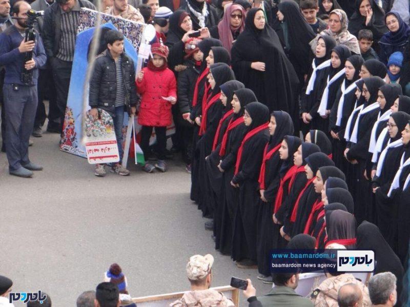 راهپیمایی باشکوه ۲۲ بهمن در رودسر برگزار شد + گزارش تصویری
