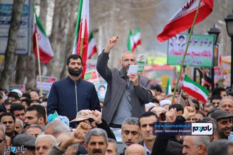 راهپیمایی ۲۲ بهمن در لاهیجان برگزار شد   گزارش تصویری