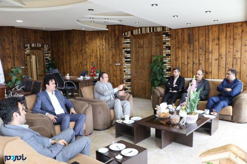 راههای اجرای زیر ساختهای شهر هوشمند در لاهیجان بررسی شد + تصاویر