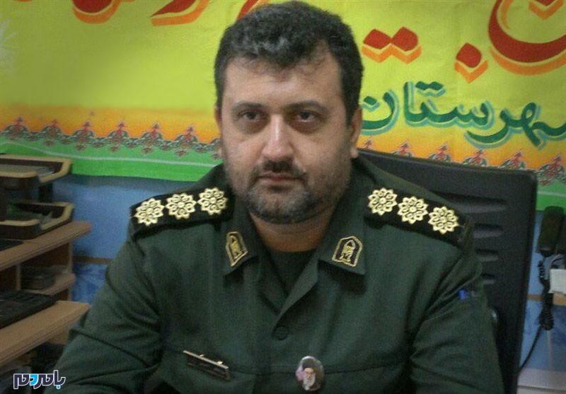 پیام تبریک و تسلیت فرمانده سپاه لاهیجان به مناسبت شهادت جانباز شهید کوروش سیرتی