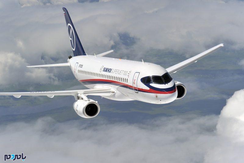 هواپیمای مسافربری برجامی روسیه امروز در تهران
