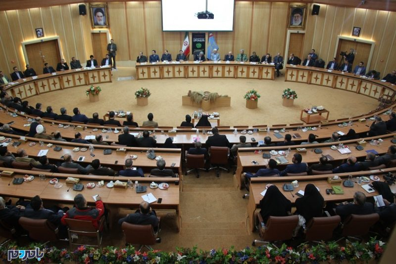 گزارش تصویری جلسه شورای اداری و مراسم تودیع و معارفه معاون سیاسی و امنیتی استانداری گیلان