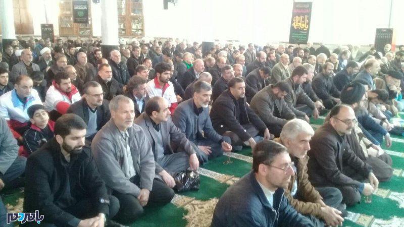 برگزاری مراسم عزاداری شهادت حضرت زهرا (س) در رودسر + تصاویر