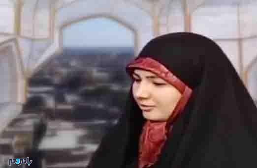 خانم کارشناس جنجالی صداوسیمای یزد در کنار همسرش + عکس