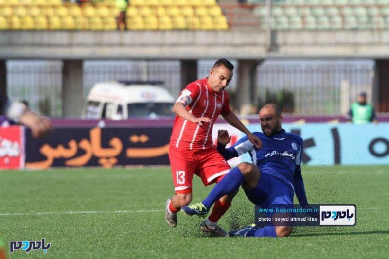 گزارش تصویری مسابقه سپیدرود رشت(۱)- استقلال خوزستان(۱)