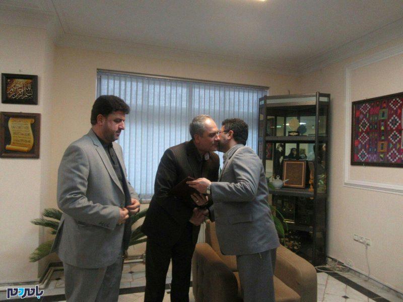 تودیع معارفه رییس ثبت احوال شهرستان رودسر برگزار شد + تصاویر