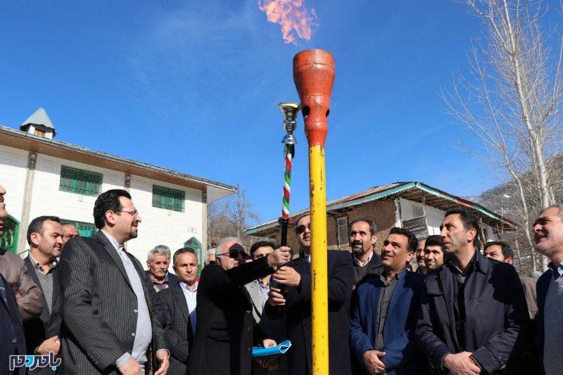 ۲۷ روستای رودبار از نعمت گاز بهره مند شدند