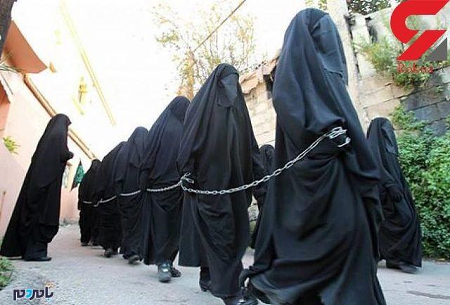 عکس زنان ایزدی که داعش به بازار برده ها برد !+باورنکردنی