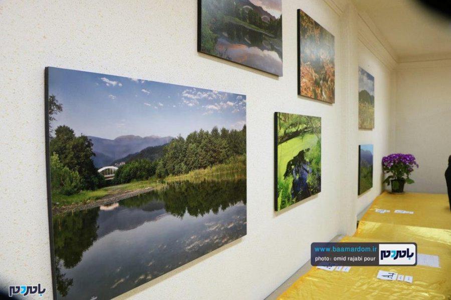 افتتاح نمایشگاه عکس طبیعت چابکسر به روایت تصویر