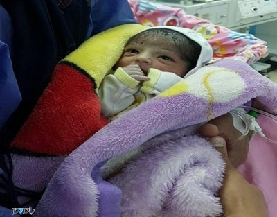 اولین نوزاد گیلان در سال ۹۷ در آستارا متولد شد