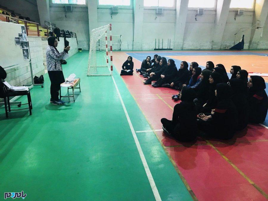 برگزاری کلاس مربیگری درجه ۳ هندبال بانوان در رشت + تصاویر