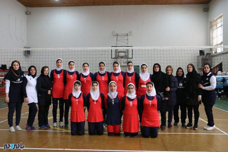 قهرمانی هیات والیبال انزلی در لیگ والیبال بانوان گیلان