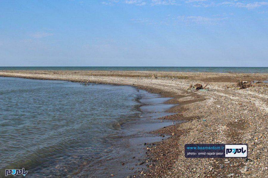 سواحل خزر در استان گیلان برای شنا مناسب نیست