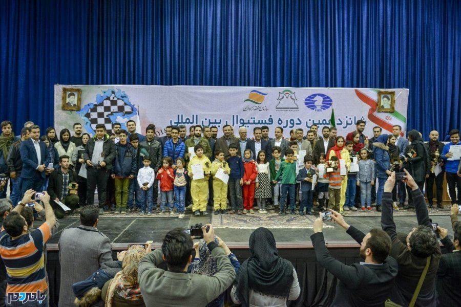 همایون توفیقی شطرنجباز گیلانی قهرمان شانزدهمین دوره رقابتهای بینالمللی شطرنج جام خزر در منطقه آزاد انزلی + تصاویر