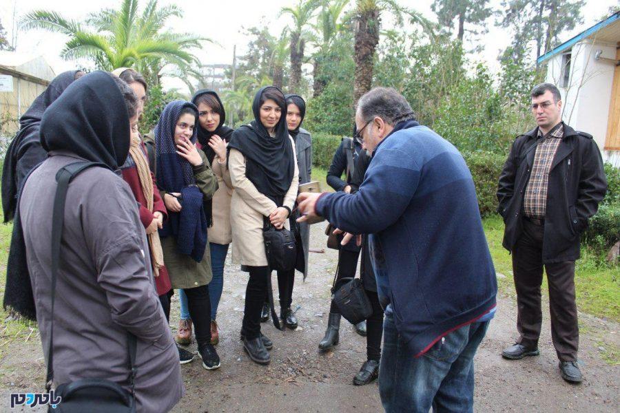 عکاسی گروهی در ایستگاه تحقیقات کشاورزی لاهیجان + تصاویر
