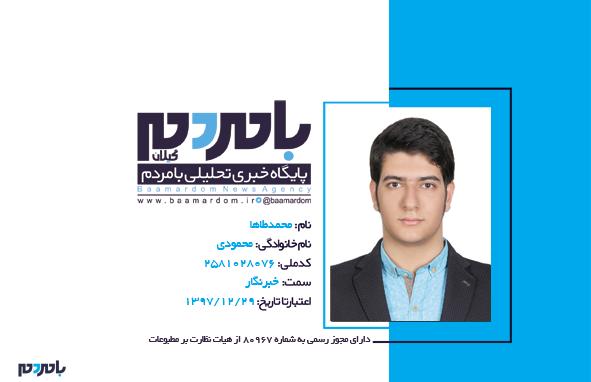 محمودی - محمدطاها محمودی