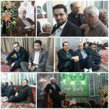 مراسم ختم پدر همسر ابوذر ندیمی در تهران برگزار شد + تصاویر