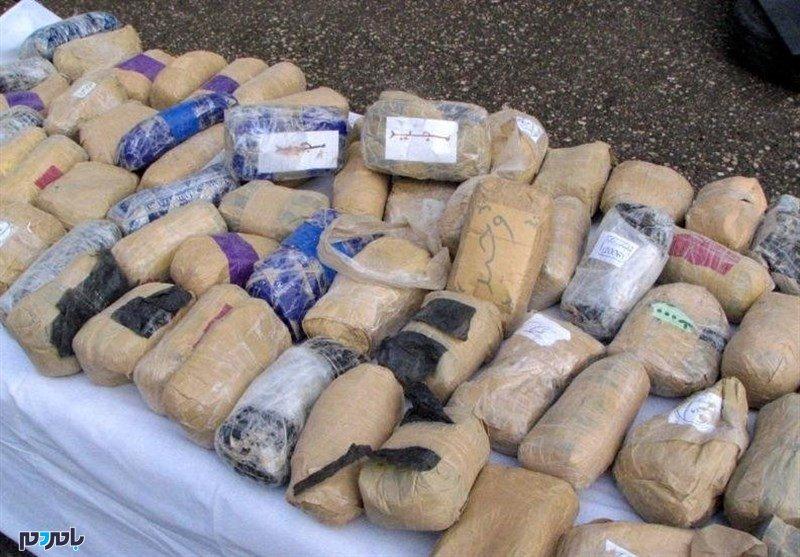 کشف ۳۵ کیلوگرم مواد مخدر در انزلی