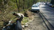 زبالههای رها شده در محیطهای گردشگری معضل این روزهای شمال کشور | تصاویر