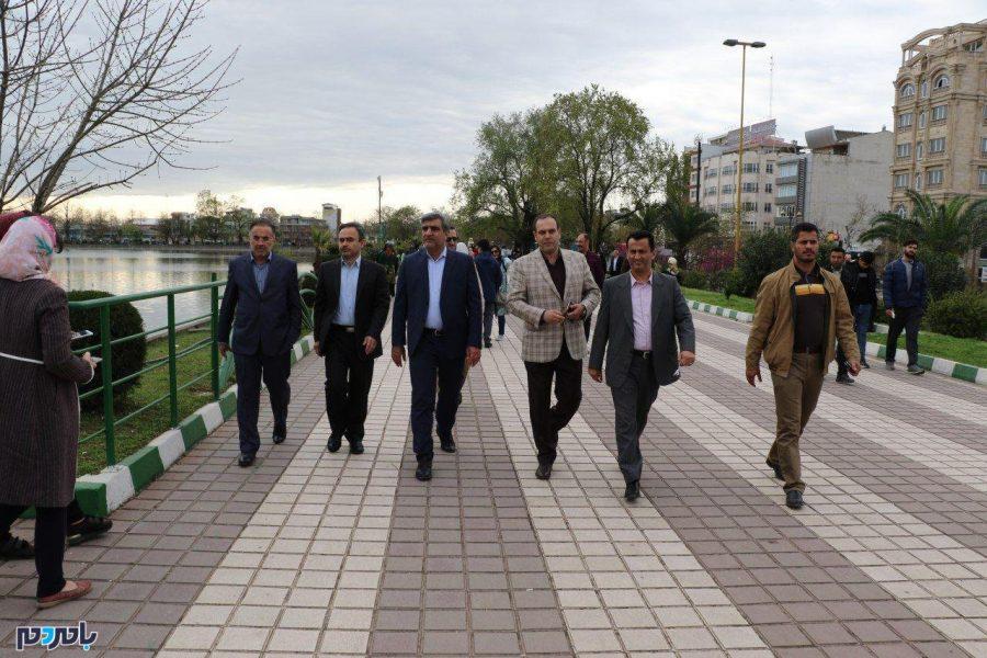 پنجمین روز جشنواره نوروزی شهرداری لاهیجان در ضلع شمالی استخر + تصاویر