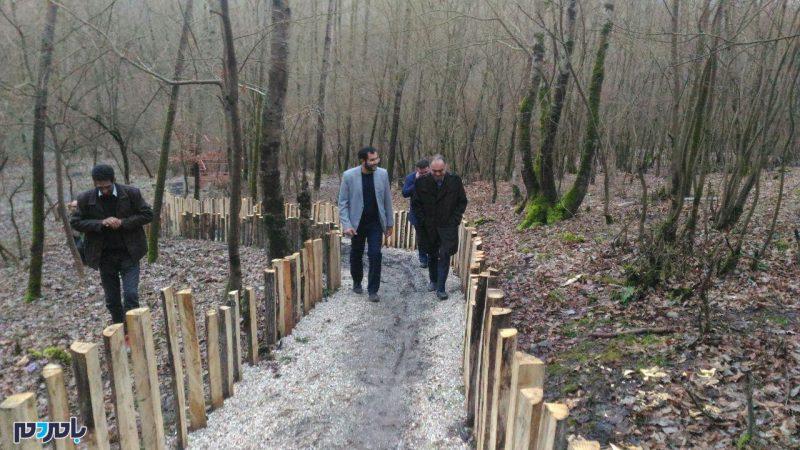 مرحله نخست پارک جنگلی آستارا آماده افتتاح در نوروز ۹۷