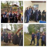 دومین خانه ورزش روستایی استان گیلان در نوبیجار لاهیجان افتتاح شد + تصاویر