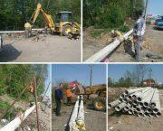 اجرای عملیات خط تغذیه در لاهیجان باهدف پایداری جریان گاز