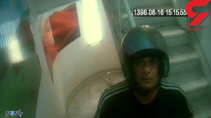 خفاش رشت دستگیر شد + عکس متهم در صحنه