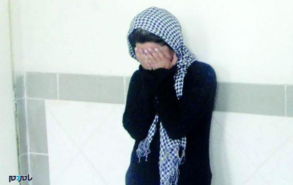 دختر 600x380 - دختر خوانده تاجر فرش تهرانی پدر و مادرش را به خواستگارش فروخت !