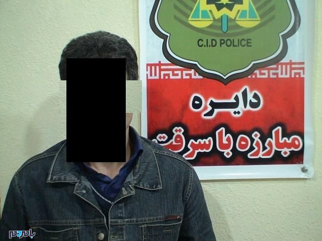 دستگیری سارق با ۱۱ فقره سرقت منزل در رودسر