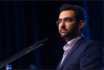 خودسوزی یک فرد مقابل وزارت ارتباطات و واکنش آذری جهرمی