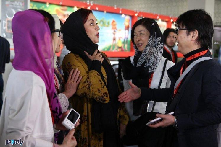 دست ندادن مریلا زارعی با مرد چینی سوژه شد + عکس