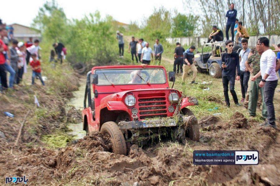 اولین دوره مسابقات آفرود امدادی در گیلان به میزبانی لاهیجان | گزارش تصویری