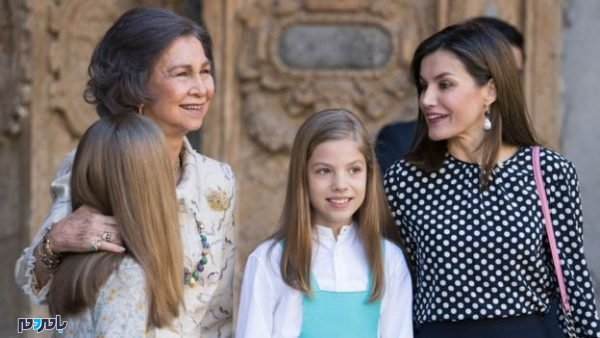 ملکه اسپانیا به جان مادرشوهرش 600x338 - ملکه اسپانیا به جان مادرشوهرش افتاد+ فیلم و عکس