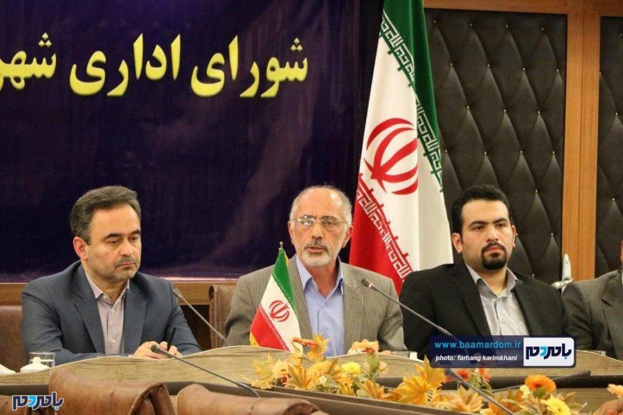 نخستین جلسه شورای اداری شهرستان لاهیجان در سال جدید   گزارش تصویری