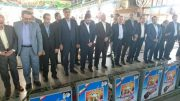 ادای احترام وزیر ارتباطات و فناوری اطلاعات به مقام شامخ شهدائ رشت + تصاویر