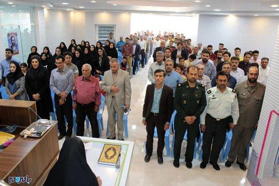 افتتاحاستخرشهرفراشبند2 - نماینده و فرماندار با کت و شلوار داخل استخر پریدند! + تصاویر