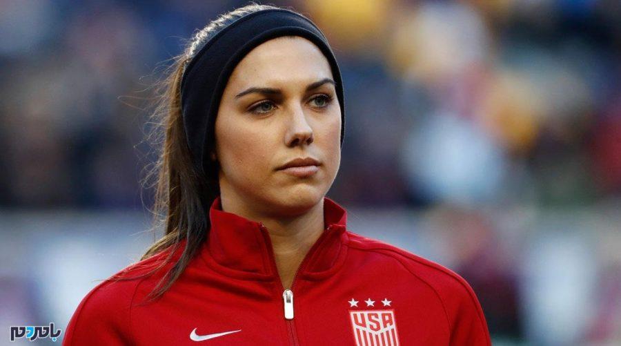 زیباترین دختر فوتبالیست دنیا در کنار بازیکن محبوب + عکس