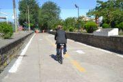 راهاندازی پیست دوچرخهسواری در ضلع شمالی استخر لاهیجان