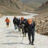 صعود کوهنوردان باشگاه باران لاهیجان به بلندترین قله گیلان + تصاویر