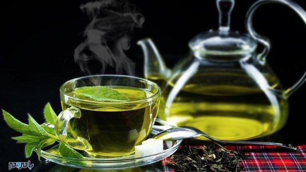 چای سبز - لاغری به سرعت برق و باد، با نوشیدن این چای