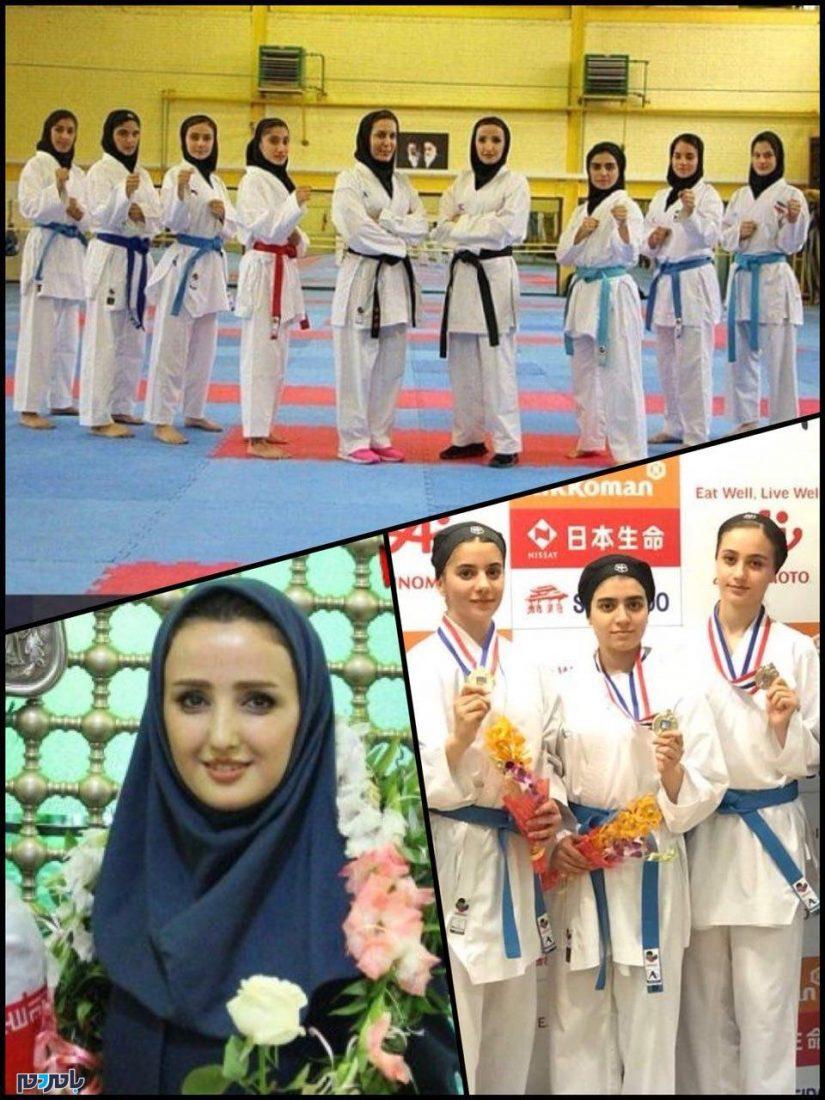 پایان خوش دختران شایسته کاراته در جام هفدهم آسیا / تیم ملی کاراته ایران قهرمان آسیا شد